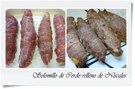 Como Cocinar Rebollones | Cocinar Con Recetas Carnes Solomillo De Cerdo Relleno De Niscalos