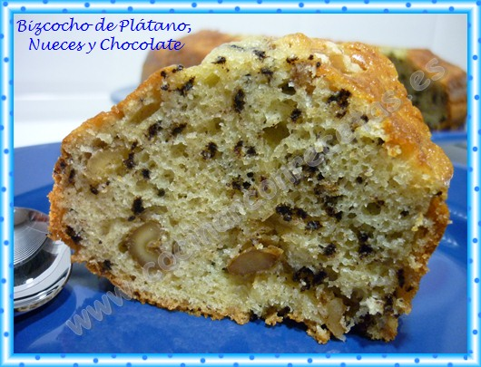 cocinar-con-recetas-dulces-bizcocho-de-platano-nueces-y-chocolate-1