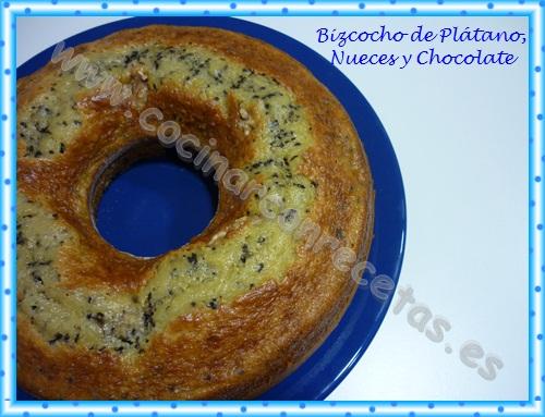 cocinar-con-recetas-dulces-bizcocho-de-platano-nueces-y-chocolate-2