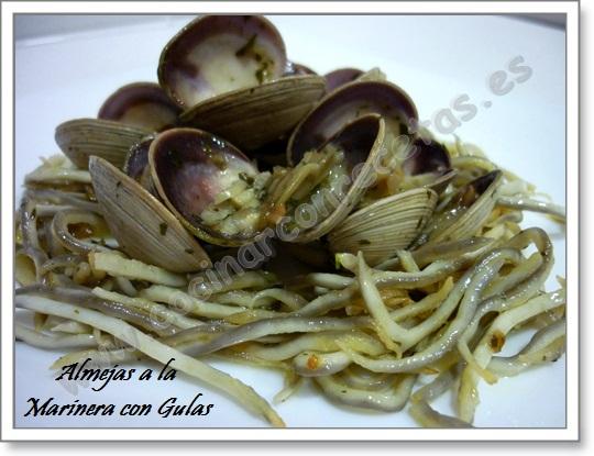 cocinar-con-recetas-mariscos-almejas-a-la-marinera-con-gulas-2