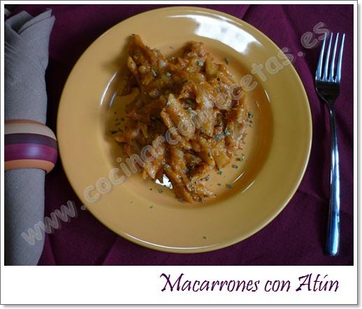 cocinar-con-recetas-pasta-macarrones-con-atun-1