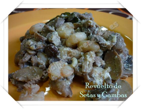 cocinar-con-recetas-verduras-y-hortalizas-revuelto-de-setas-y-gambas-2