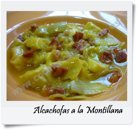 Alcachofas a la montillana cocinar con recetas for Cocinar alcachofas