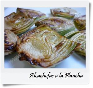 Cocinar con recetas verduras y hortalizas alcachofas a la - Cocinar a la plancha ...