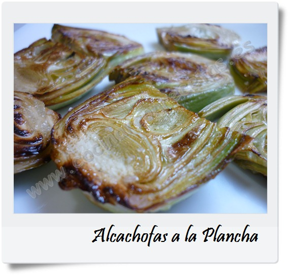 alcachofas a la plancha cocinar con recetas