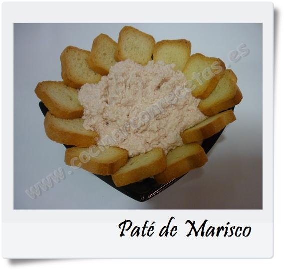 Cocinar con recetas aperitivos pate de marisco 1 cocinar - Aperitivos de mariscos ...