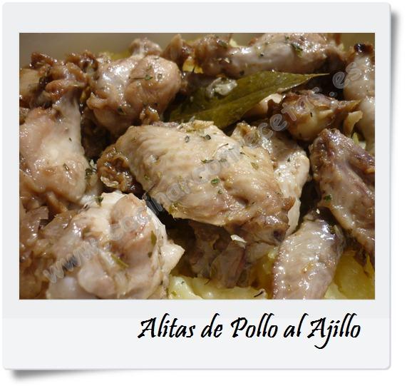 Alitas de pollo al ajillo cocinar con recetas - Cocinar pollo al ajillo ...