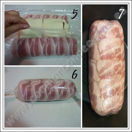 Rollo de pollo al vapor cocinar con recetas for Cocinar con horno de vapor