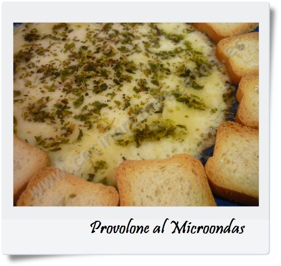 Provolone al microondas cocinar con recetas for Cocinar microondas