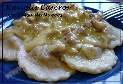 Raviolis de carne con tomate con salsa de nueces cocinar for Cocinar noodles