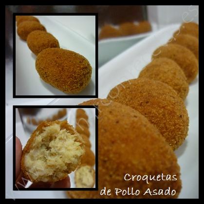 Recetas De Cocina Croquetas De Pollo | Croquetas De Pollo Asado Aprovechamiento Cocinar Con Recetas