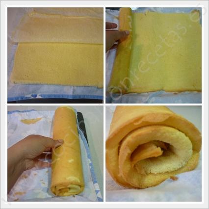 cocinar-con-recetas-tartas-brazo-de-gitano-relleno-de-nata-y-nueces-caramelizadas-2